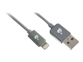 IOGEAR USB to Lightning Cable, 6.5ft, EXCLUSIVE Buy - Save $1, GUL02, 16265927, Cables