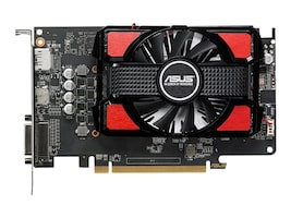 Asus RX550-2G Main Image from Front