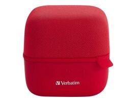 Verbatim Verbatim Bluetooth Speaker System - Red, 70225, 41154671, Speakers - Audio