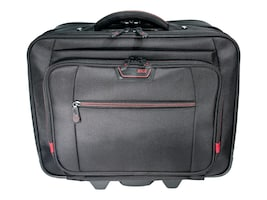 Mobile Edge 17.3 Professional Rolling Laptop Case, Black, MEPRC1, 35401357, Carrying Cases - Notebook
