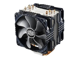 Cooler Master Hyper 212X CPU Cooler with 2x120mm PWM Fans, RR-212X-20PM-A1, 34352080, Cooling Systems/Fans