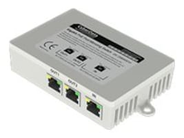 CyberData 2-Port PoE Gigabit Port Mirroring Switch, 011258, 17104981, Network Switches