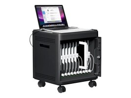 Iluv 10-Bay MultiCharger-X (Lightning Pin) with Casters, IAD910LULBK, 32656881, Computer Carts