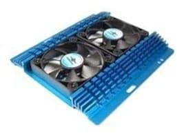 Vantec Aluminum Hard Drive Cooler with Dual Fans, HDC-502A, 17433283, Cooling Systems/Fans