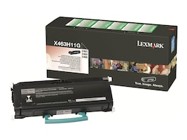 Lexmark Black High Yield Return Program Toner Cartridge for X463de, X464de & X466 Series MFPs, X463H11G, 9644582, Toner and Imaging Components - OEM