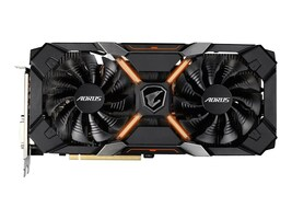 Gigabyte Technology GV-RX580XTRAORUS-8GD Main Image from Front