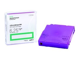 HPE 6.25TB LTO-6 Ultrium Metal Particle RW Data Cartridge, C7976A, 15115610, Tape Drive Cartridges & Accessories