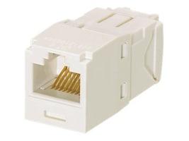 Panduit Mini-Com Module Cat6 Corrosive Resistant, TG Style,  Office White, CJE688TGIW, 33024754, Premise Wiring Equipment