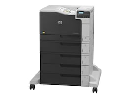 Open Box HP Color LaserJet Enterprise M750xh Printer - 220V, D3L10A#AAZ, 31629362, Printers - Laser & LED (color)