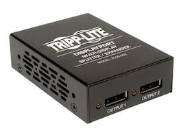Tripp Lite 2-Port DisplayPort Splitter, 1920x1080 at 60Hz, TAA, GSA, B156-002, 15785429, Video Extenders & Splitters
