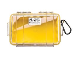 Pelican 1050 Clear Micro Case, Yellow, 1050-027-100, 11761024, Protective & Dust Covers
