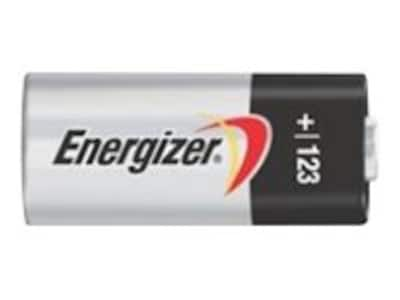 Energizer Specialty Lithium Photo 123 (4-pack), EL123BP-4, 33979753, Batteries - Camera