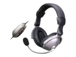 Avid Noise Cancelling Over-Ear Headphones w Mic, AE-350, 16708564, Headsets (w/ microphone)