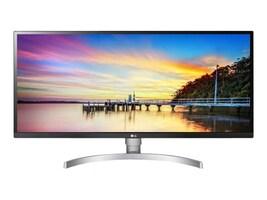 LG 34 BK650-W WFHD LED-LCD Ultrawide Screen Display, Silver White, 34BK650-W, 35226958, Monitors