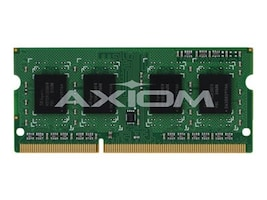 Axiom 8GB PC3-12800 DDR3 SDRAM SODIMM for Select Models, AX31600S11Z/8L, 17053926, Memory