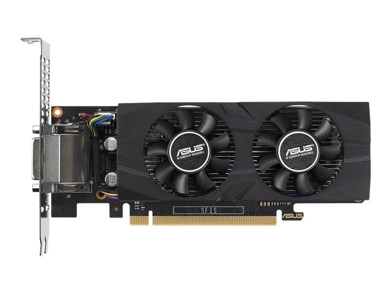 Asus GeForce GTX 1050 TI PCIe 3 0 Overclocked Graphics Card, 4GB GDDR5