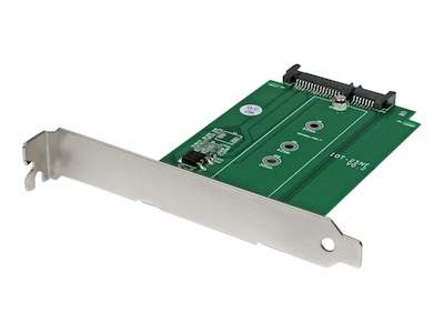 StarTech.com M.2 to SATA SSD adapter - NGFF to SATA - expansion slot, S32M2NGFFPEX, 18570757, Drive Mounting Hardware