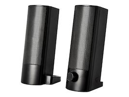 V7 2.0 Stereo USB 5W RMS Soundbar Set w  Volume Control - Black, SB2526-USB-6N, 36806794, Speakers - Audio