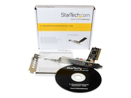 StarTech.com PCISOUND5CH2 Main Image from Front