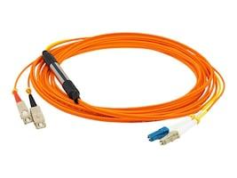 AddOn LC-SC OM1 62.5 125 OM1 Duplex LSZH Mode Conditioning, Orange, 2m, CAB-MCP-LC-2M-AO, 32691993, Cables