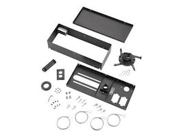 Da-Lite Advanced Universal Ceiling Mount Kit, Black, 7372, 8510312, Stands & Mounts - AV