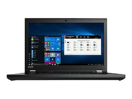 Lenovo ThinkPad P53 Core i7-9850H 2.6GHz 16GB 512GB PCIe ax BT FR 2xWC RTX4000 15.6 FHD W10P64, 20QN001HUS, 37231099, Workstations - Mobile