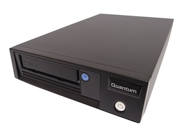 Open Box Quantum LTO-5 HH SAS 6Gb s Tabletop Model C Tape Drive - Black w  SAS HBA, TC-L52BN-EZ-C, 30803277, Tape Drives