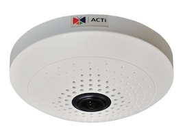 Acti 5MP Indoor Fisheye Dome with D N, Basic WDR, Fixed Lens, B54, 19910961, Cameras - Security