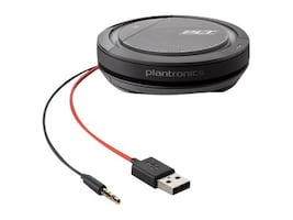 Plantronics Calisto 5200 w 3.5mm, USB C, 210903-01, 36584861, Audio/Video Conference Hardware