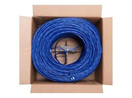 4Xem Cat5e 350Mhz Bulk Cable, Blue, 1000ft, 4XCAT5E1000BL, 16922501, Cables