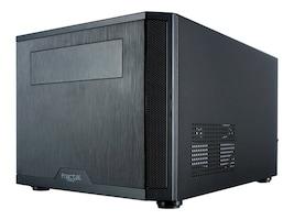 Fractal Design Chassis, Compact Mini ITX Core 500 3x3.5 Bays 3x2.5 Bays 1x5.25 Bay 2xSlots, Black, FD-CA-CORE-500-BK, 30658057, Cases - Systems/Servers