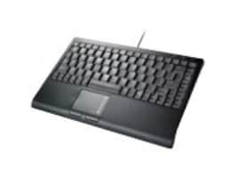 Solidtek USB Mini Keyboard with Built-in Touchpad - Black, KB-3910BU, 8538041, Keyboards & Keypads