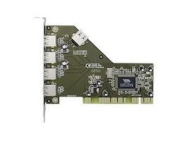 Syba 5-port USB 2.0 PCI Card, SD-VIA-5U, 31260956, Controller Cards & I/O Boards