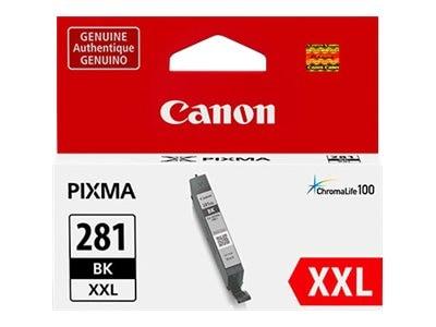 Canon CLI-281 XXL Ink Tank, Black, 1983C001, 34535089, Ink Cartridges & Ink Refill Kits - OEM