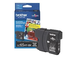 Brother Black High Yield Ink Cartridge for MFC-6490CW, LC65HYBK, 8688840, Ink Cartridges & Ink Refill Kits
