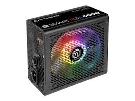 Thermaltake Smart RGB 600W Power Supply, White, PS-SPR-0600NHFAWU-1, 34676754, Power Supply Units (internal)