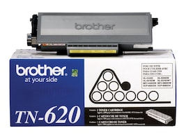 Brother Black TN620 Standard Yield Toner Cartridge, TN620, 9532097, Toner and Imaging Components