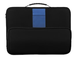 V7 Essential Work-in-Case w  Hand Strap for Chromebook 11.6, Black, CCK5FIT-1N, 33979673, Carrying Cases - Notebook