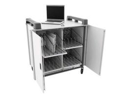 LapCabby 20-Bay Laptop Charging Trolley, Charcoal, LAP20VCH/USA, 31795467, Computer Carts