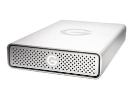 G-Technology 8TB G-Drive USB G1 Storage - Silver, 0G03906, 32084288, Hard Drives - External