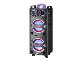 Pyle BT PA Loudspeaker Karaoke Entertainment System w  Active Powered Speaker & DJ Party Lights, PSUFM1043BT, 33115023, Public Address (PA) Systems