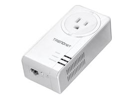 TRENDnet POWERLINE 1300 AV2 ADPT BUILT IN OUTLET, TPL-423E, 35092646, Network Adapters & NICs