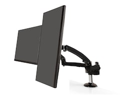 Ergotech Freedom Arm with Dual Display Support, Gray, FDM-PC-G02, 36129658, Stands & Mounts - AV
