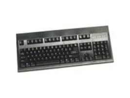 Keytronic 104-Key E03601P  PS 2 Keyboard - Black, E03601P2, 7095137, Keyboards & Keypads