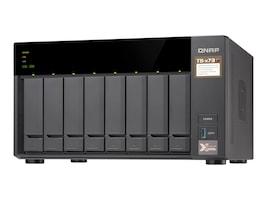 Qnap 8-Bay iSCSI IP-SAN AMD Radeon Storage, TS-873-4G-US, 35381608, SAN Servers & Arrays