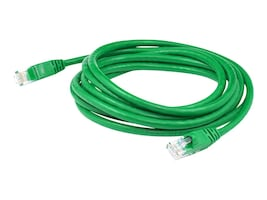 AddOn Non-Booted Cat6 UTP PVC Copper Patch Cable, Green, 5ft, ADD-5FCAT6NB-GRN, 36712835, Cables