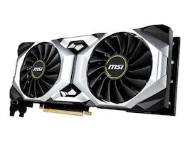 Microstar GeForce RTX 2080 Ventus Overclocked Graphics Card, 8GB GDDR6, G2080V8C, 36168235, Graphics/Video Accelerators