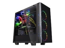 Thermaltake Chassis, View 21 TG MT, CA-1I3-00M1WN-00, 34347125, Cases - Systems/Servers
