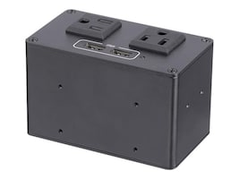 StarTech.com POWER OUTLET MODULE FOR        PERPCONFERENCE TABLE CONNECTIVITY BOX, MOD4POWERNA, 37837859, AC Power Adapters (external)