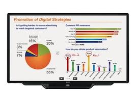 Sharp 80 PN-L803C Full HD LED-LCD Touchscreen Display, Black, PN-L803C, 27718565, Monitors - Large Format - Touchscreen/POS